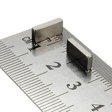 Divers Taille Forte 20 mm 23 mm 25 mm 28 mm Longueur Néodyme Cube Bloc Aimants