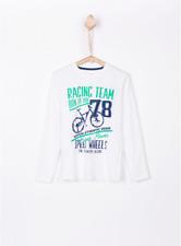 T-Shirt enfant Tiffosi SIX Manche Longue Neuf !!! Plusieurs Tailles Disponibles