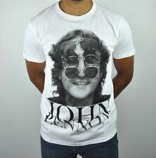 John Lennon T-Shirt in White 100% Organic Cotton
