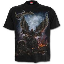 Spiral Direct RIDE OR DIE Short Sleeve T-Shirt, Goth, Rock, Biker, Heavy Metal