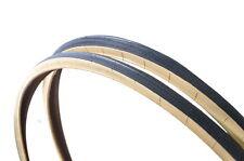 PAIR 700c x 25 (622 x 25)TYRES AMBERWALL SEMI SLICK SPORTS TREAD VERY LOW PRICE