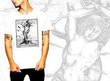 Medieval t-shirt, gothic, Goth, Death Rider, occult, vintage, Halloween, fresco