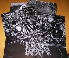 THRONEUM Deathcult LP Damnation Necrovore Nihilist Pek Deicide Holocausto Altar