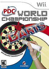 PDC World Championship Darts Complete Nintendo Wii CIB in Box U Only One on eBay