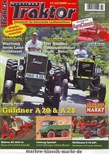 Oldtimer Traktor 11-12/09 Güldner A 20/28/Unimog U411/Hürlimann D 70 SSP/Belarus