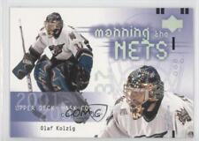 2001 Upper Deck Mask Collection #130 Olaf Kolzig Washington Capitals Hockey Card