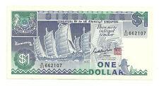 "SINGAPORE  $1 Ship Series GKS Seal A43 662107 ""EF+"""