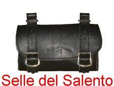 BORSA PELLE BORSELLO BICI BICICLETTA SOTTOSELLA VINTAGE Leather Tools Bags Bike