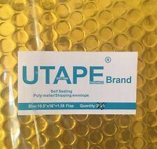 10.5x16 Gold Metallic Bubble Mailer Padded Envelope Bag Poly Mailer UTAPE® Brand