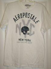 NEW Aeropostale Mens NY Athletic T-Shirts  L XXL WHITE