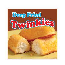 Deep Fried Twinkies Concession Restaurant Food Truck Die-Cut Vinyl Sticker