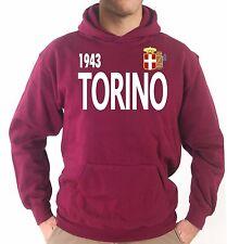 Felpa con cappuccio KJ1523 Torino Campione d'Italia 1943 Stemma Fascio Scudetto