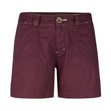 Women's Cloudveil Pearl Street Shorts Hiking Nightshade Red Chocolate Brown 10