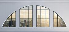 Fototapete Selbstklebend New York Rundfenster Ausblick - Made in Germany -