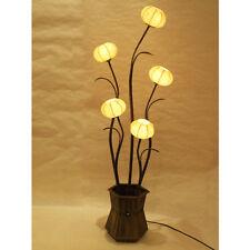 Mulberry Yellow Paper Ball Art Shade Lantern Asian Table Floor Touch Light Lamp