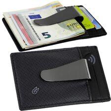 MANDARINA Duck in Acciaio Inox Pelle EC carte di credito soldi astuccio parentesi clip slimwallet