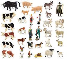 Bullyland Animal World - Farmland Bauernhof - Kühe, Ziegen oder Schafe *NEU*