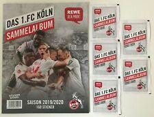 REWE Sticker Sammelalbum 2020 1. FC Köln - Starterpack: Album & Tüten NEU