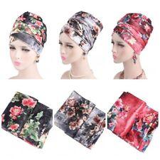 Ramadan Women Velvet Long Turban Tail Cap Muslim Hijab Shawl Scarf Hat Headwrap