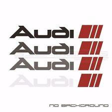 Audi Sport Sticker EURO Racing mod A4 S4 S3 TT R8 A6 Q5 Q7 A3 TTRS 2 colour Pair