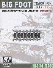 AFV Club 1/35 AF35133 Big Foot WORKABLE Track for M2A2/M3A3/AAV7A1/MLRS/CV90
