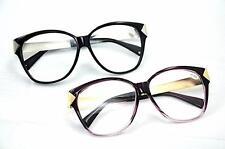 GF122 Retro Vintage durchsichtige Linse acatate / Metall Brille Auswahl 2 Farben