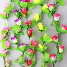 200cm Blumenranke Ranke Seidenblumen Kunstblumen Blumen Girland Deko 4063