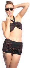 40er/50er POLKA DOTS vintage pin up retro rockabilly Panty Bikini SugarShock