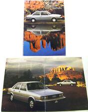 Audi 4000 80 2-dr 4-dr 1979 Original USA Market Large Format Sales Brochure