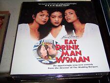 EAT DRINK MAN WOMAN SIHUNG LUNG  KUEI-MEI YANG  ID3162HL  LASER DISC