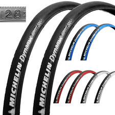 2x Michelin Dynamic Sport Draht 28 | 700x23 | 23-622 Fahrrad Reifen schwarz Paar