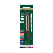 2 X Monteverde LAMY compatible Ballpoint Pen refills M16 size. 10 COLOURS New