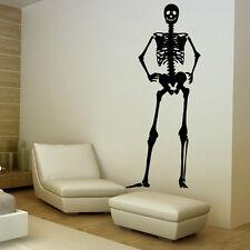 Sticker mural Squelette Corps Humain - Choix taille et couleur
