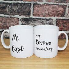 Personalised gift Mugs - Anniversary Wedding - Etta James, At Last
