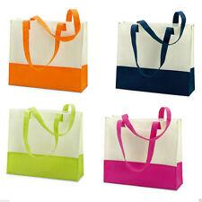 BN Large Lightweight BEACH BAG  HandBagTWO-TONE SUMMER TOTE SHOPPING Shopper