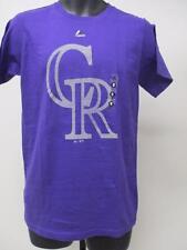 New Colorado Rockies Mens Adult Sizes S-M-L-XL-2XL Majestic Shirt MSRP $26