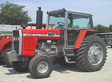 Massey Ferguson 2000 series tractor bonnet stickers / decals (Older Model)