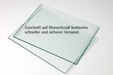 Sicherheitsglas klar  4,5,6,8 mm Zuschnitt Glasplatte Glasregal  ( ab 15,60€ )