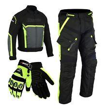 Wasserdichte Motorrad Jacke Cordura Motorradjacke + Hose Motorrad Textil Kombi