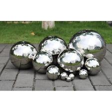 Stainless Steel Mirror Polish Sphere Hollow Round Ball Garden Ornament