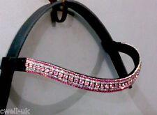 NOUVEAU bling-bling ! Designer dressage rose colorés Cristal BRIDE cadeau idéal