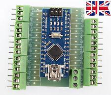 Arduino Nano V3.0 Compatible- ATmega328 CH340 Chip with screw terminal UK stock.