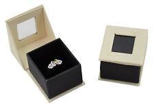 LUXURY Dubai Serie Anello CARTONE Hinged Gioielli Regalo / presentazione BOX
