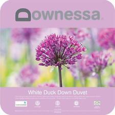DOWNESSA WHITE DUCK DOWN Doona |Quilt  Single |Double |Queen |King |Super King