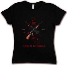 URBAN GUERILLA AK-47 HC 83 HATE COUTURE GIRLIE T SHIRT Machine Gun Kalaschnikow
