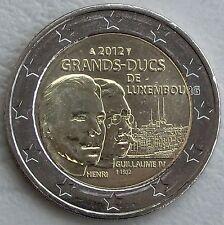 "2 Euro Luxemburg 2012 ""Guillaume IV."" unz"