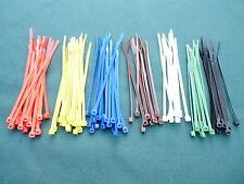 Lazos De Cremallera/Cable 4.8mm X 200mm Nylon 66/100 paquete de mezcla de plástico o colores individuales