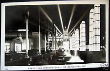 Spain~Espagne~1929 Barcelona~Expo Internation~Rppc