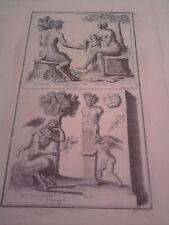GRAVURE ANCIENNE D'EPOQUE SILVAIN BOISSARD FORMAT 26 x 39.5 cm