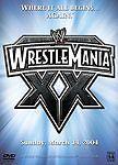 WWE WrestleMania XX, Good DVD, Paul Levesque, Chris Benoit, Shawn Michaels, Eddi
